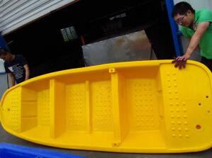 china supplier plastic HDPE fishing boat/kayak/vessel 2.7m/3.2m/4m/6m