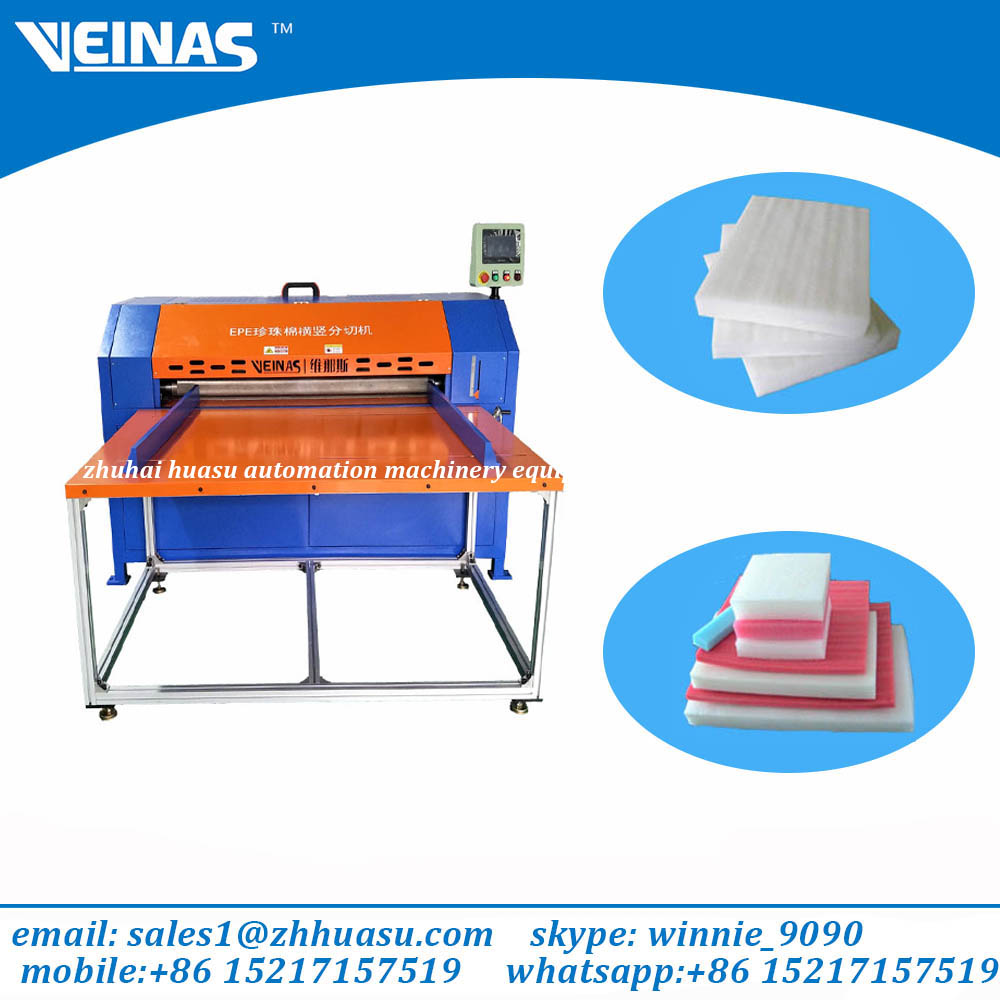 Veinas Expanded Polyethylene Foam slitting machine/cutting machine