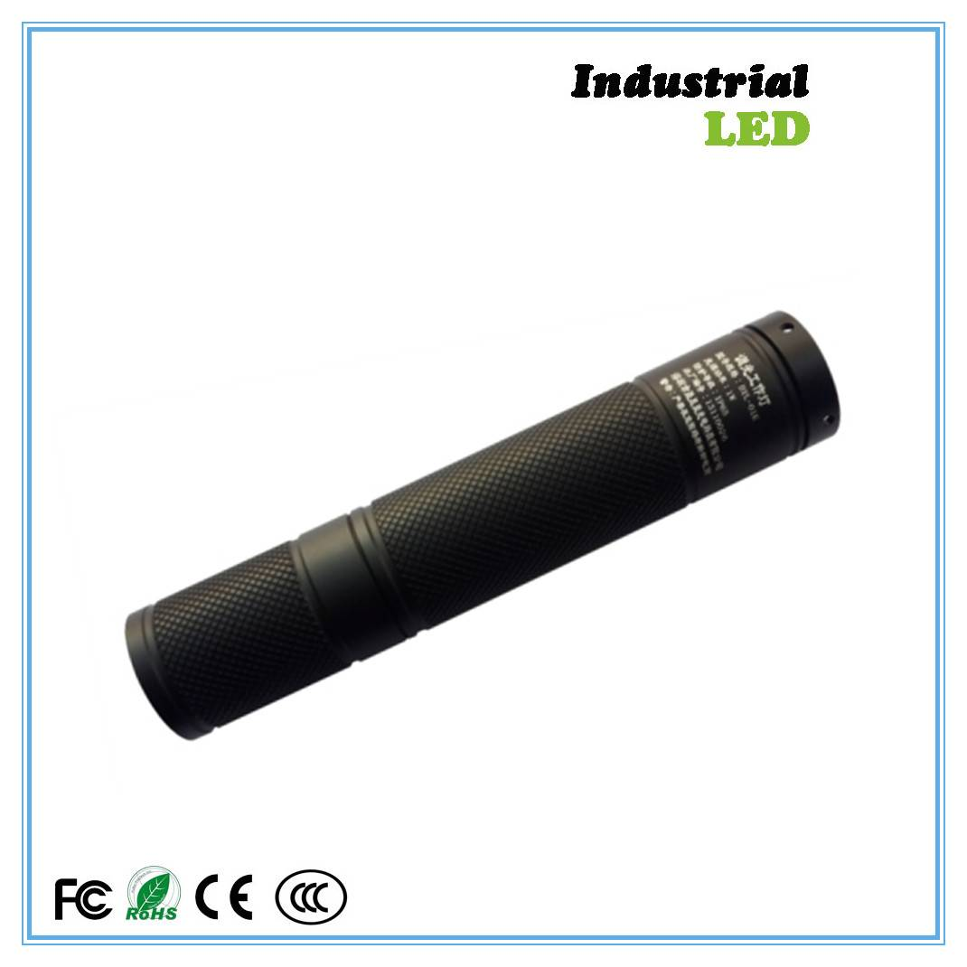 Adjustable 95g mini flashlight torch