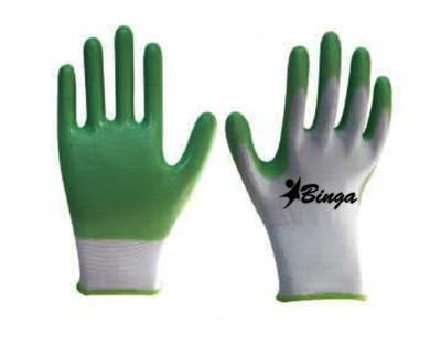 PVC Coated 10G/13G Polyster Shell Safety Glove