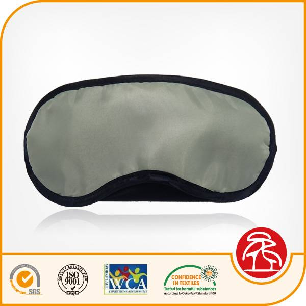 Fashion desgin poylester sleep eye mask