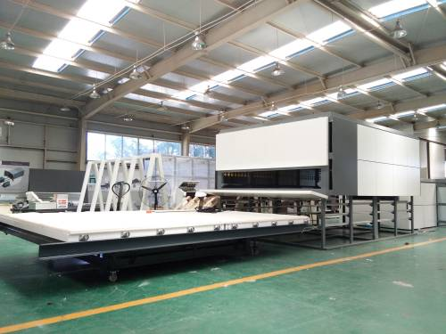 New condition eva glass laminating machine