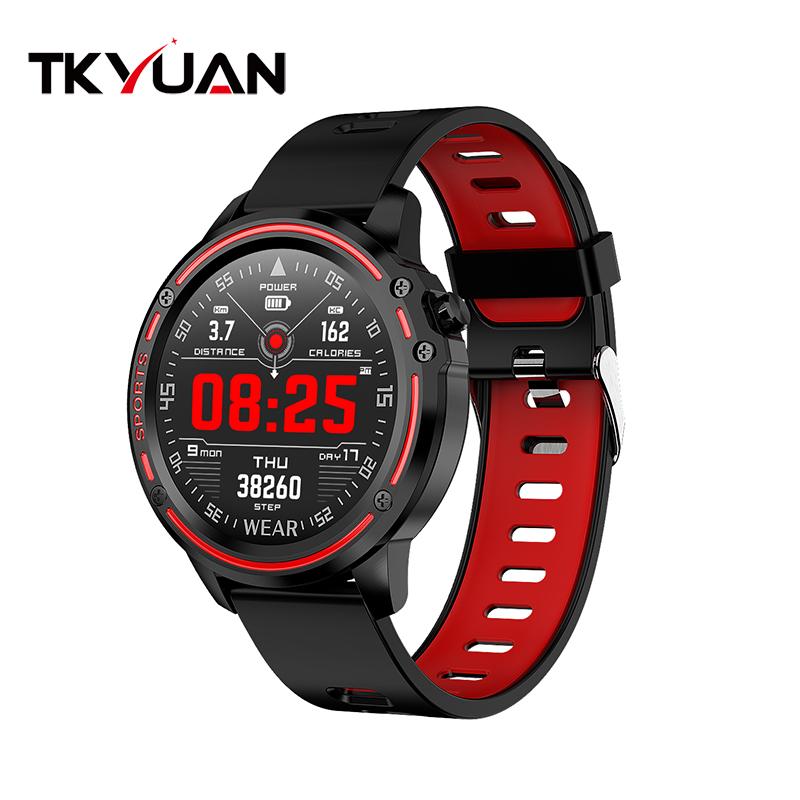 Smart Watch Men ECG PPG IP68 Waterproof Blood Pressure Heart Rate Fitness Tracker Sport Smartwatch