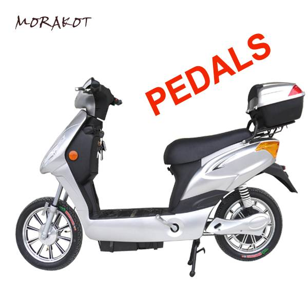 CE 200W 36V10AH Lithium Battery Electric Scooter/Bike With Pedals Assisted----LS1-3