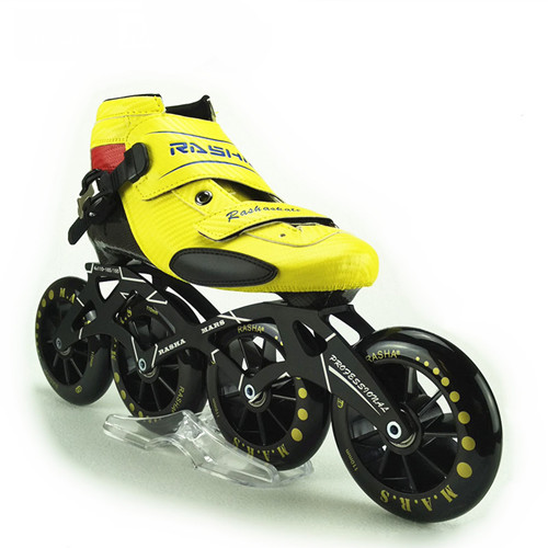 Rasha Skate Inline Speed Skating Shoes Speed Skates Red Carbon Inline Roller Skate Boot Wheels