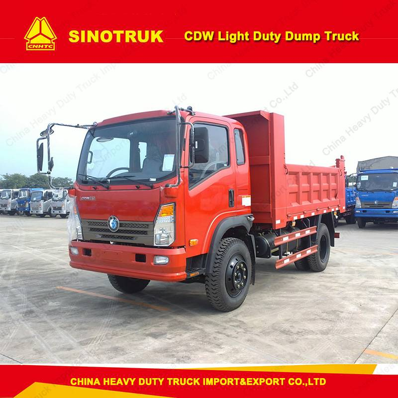 Sino 6tons Small Mini Light Dump Tipper Truck Price