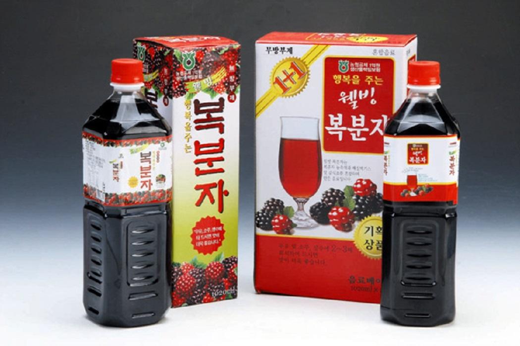 Bokbunja Korean Raspberry Drink