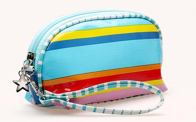 PU cosmetic bag with high quality