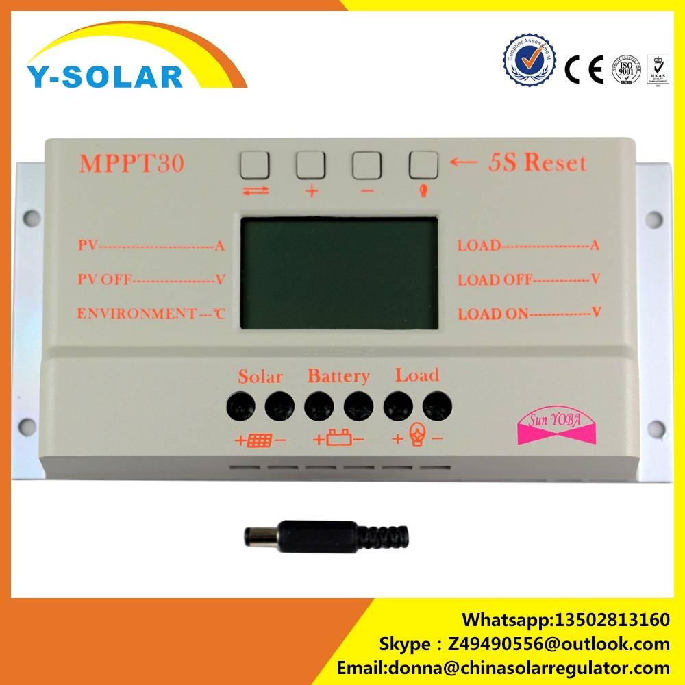 Y-SOLAR M30 10A 20A 30A PWM Solar Charge Controller