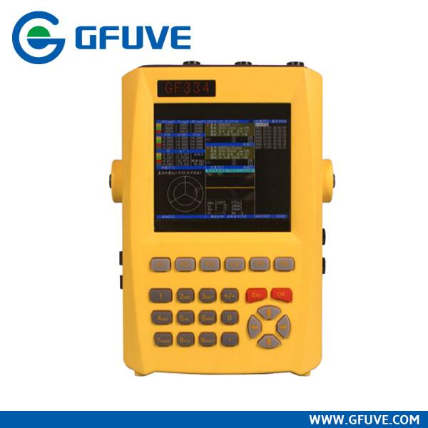 GF334 SMALL SIZE HANDHELD HARMONICS POWER ANALYZER