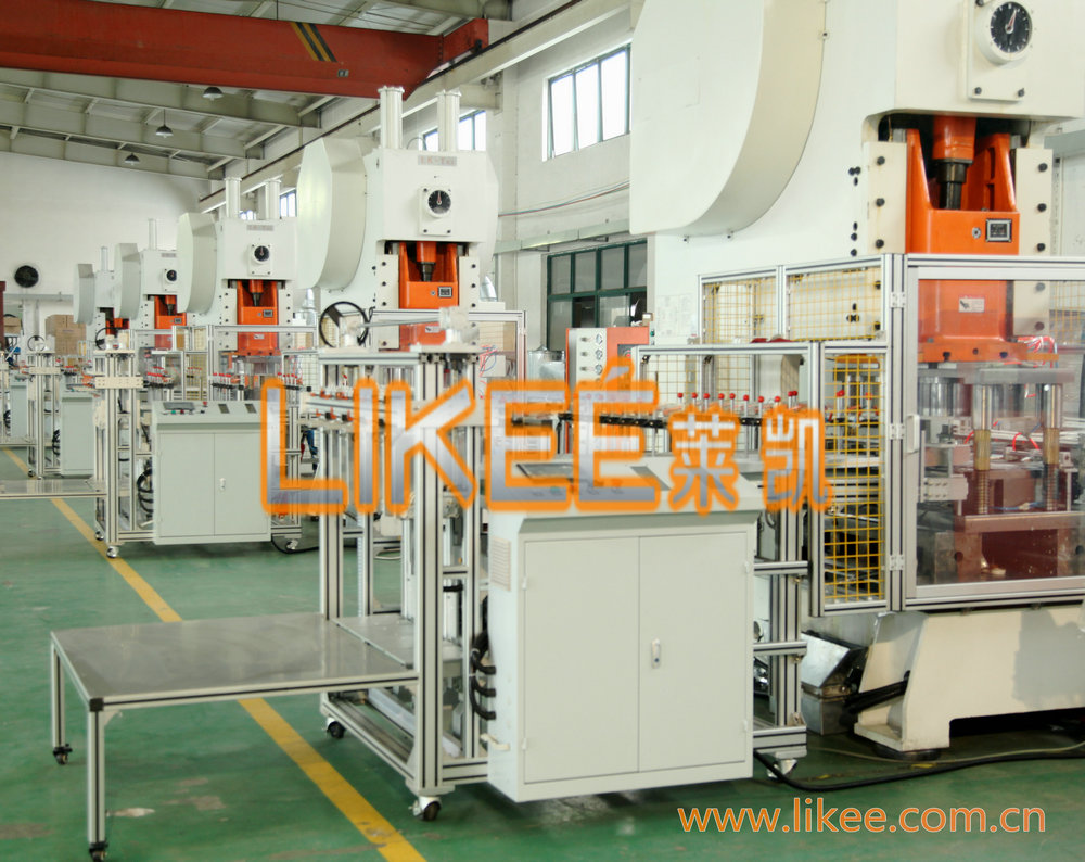 Automatic Aluminum Foil Container Making Machine LIKEE-T63