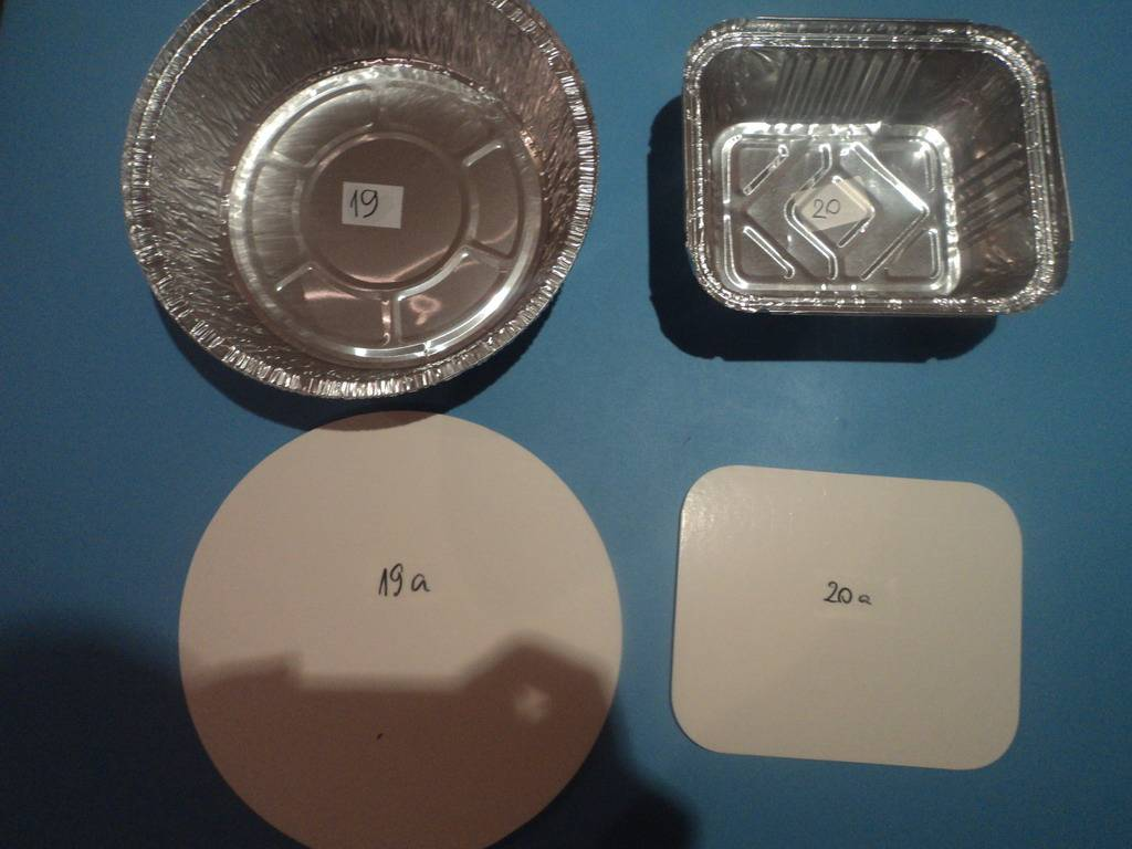 lids for foiled lamination container