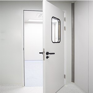 Master Series Innovative High-end Double Sealed Steel Cleanroom Door for Pharmaceutical Clean Room