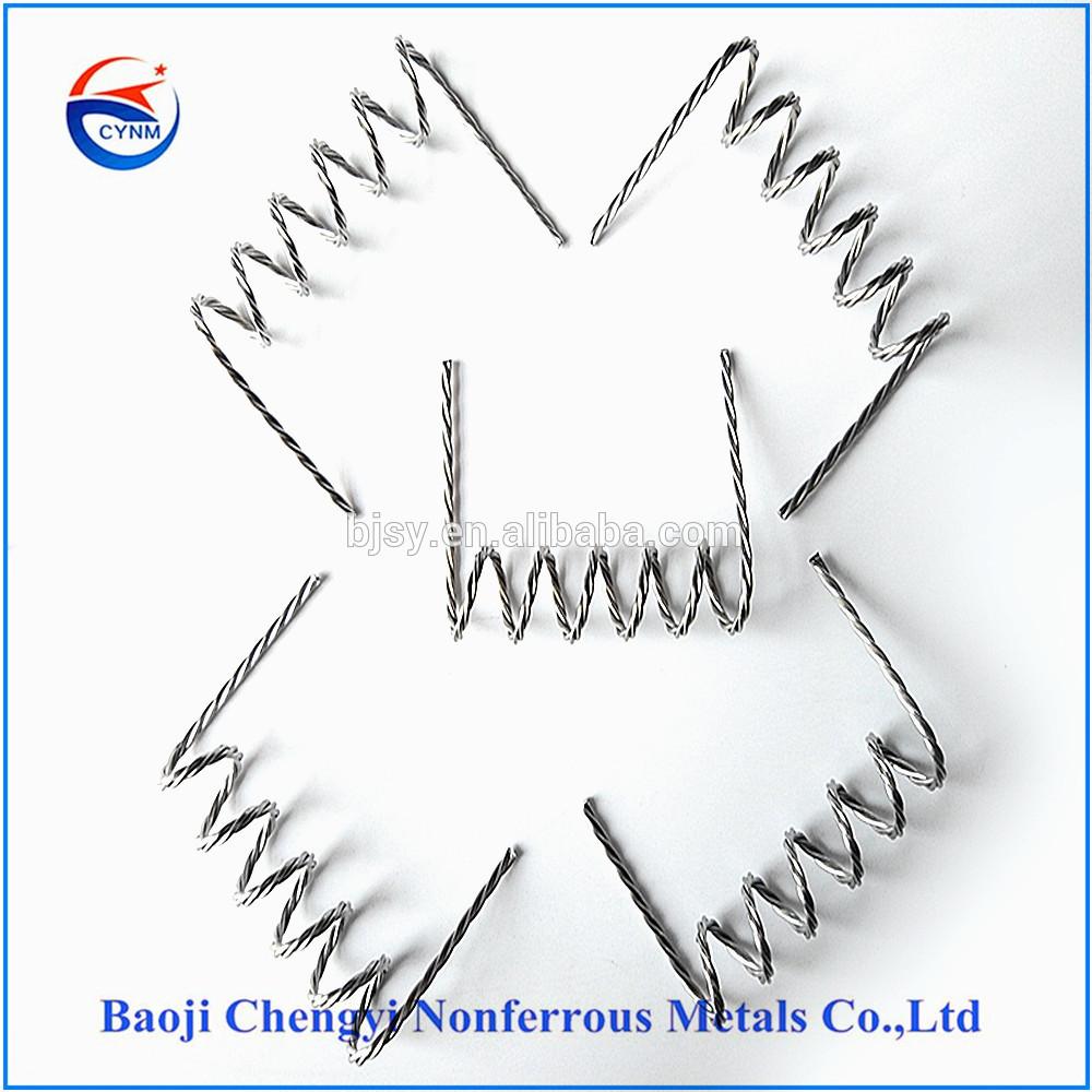 tungsten wire heating element for Vacuum Metallizing