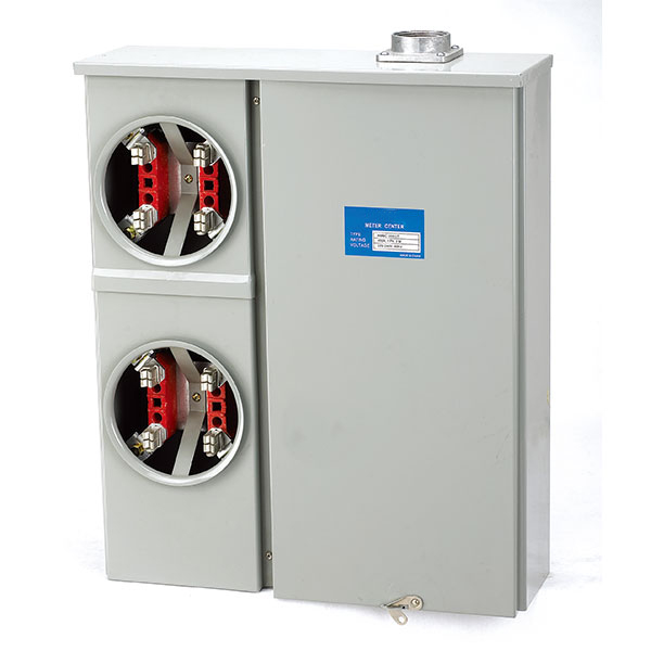 200 Amp 2-Position Electric Meter Socket