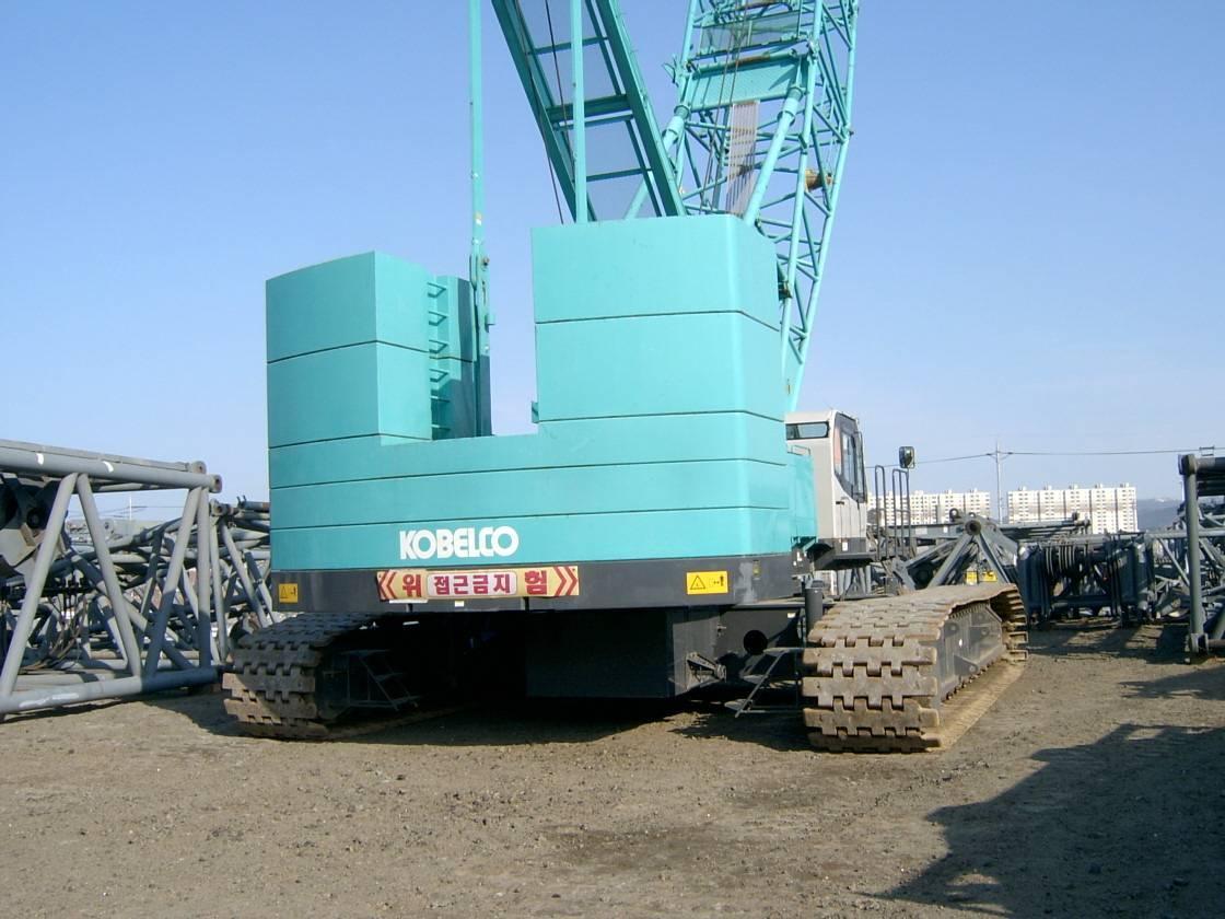 250 ton kobelco crawler crane. 7250-2F