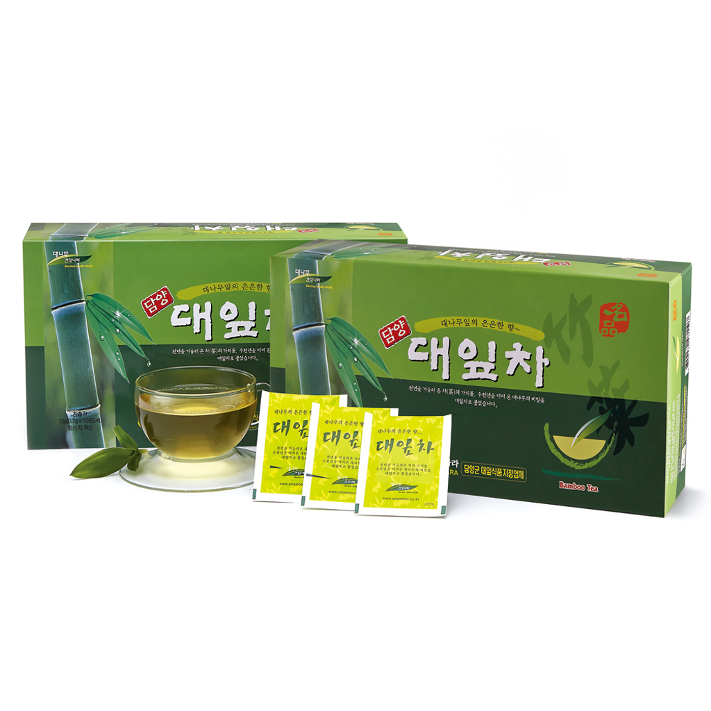 Bamboo Tea(100ea)_Zero caffeine and low calorie tea for good health