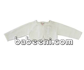 Cute hand embroidered cardigan for little girls - BB505