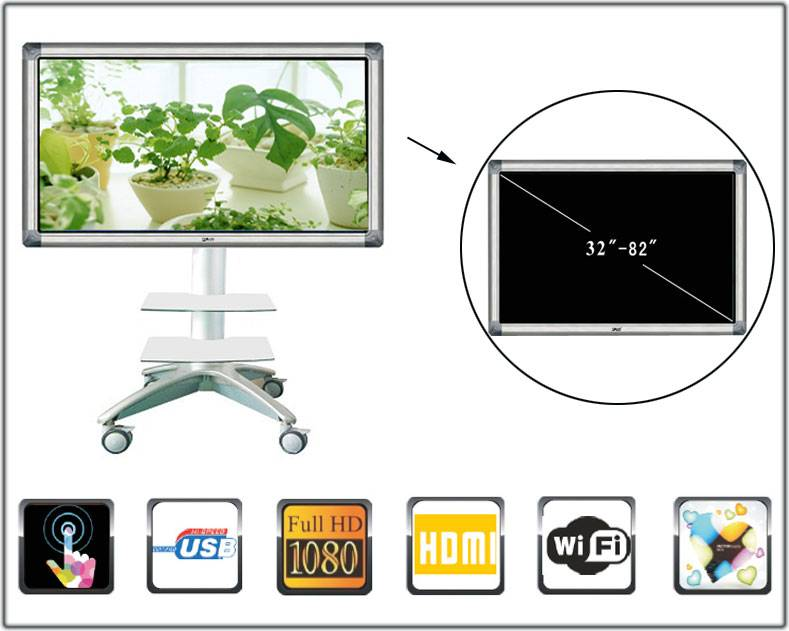 55 inch All-in-one Multimedia Touch Education PC
