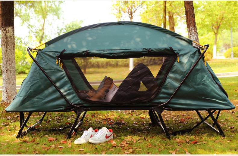 Automatic Smart Tent Off Ground Tent Above Ground WaterProof Outdoor Folding Camping Bed Tent