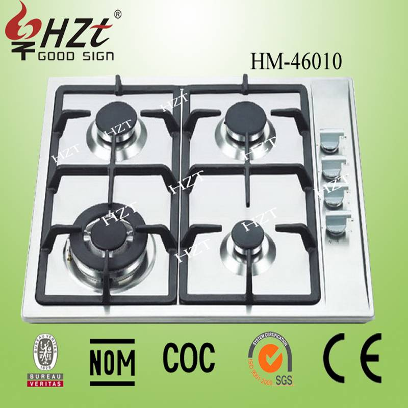 2015 made in thailand products inox stainless 4 stove gas hobs
