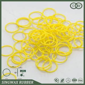Type O ring size and groove design