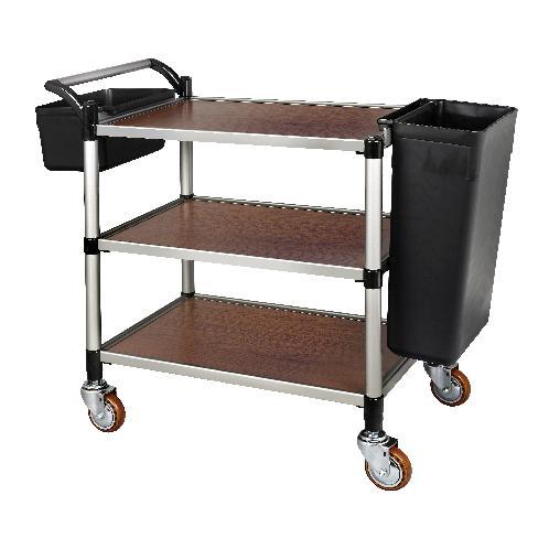 Wood Serving Cart