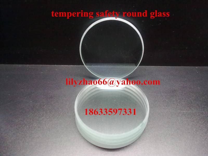 tempering round safety glass