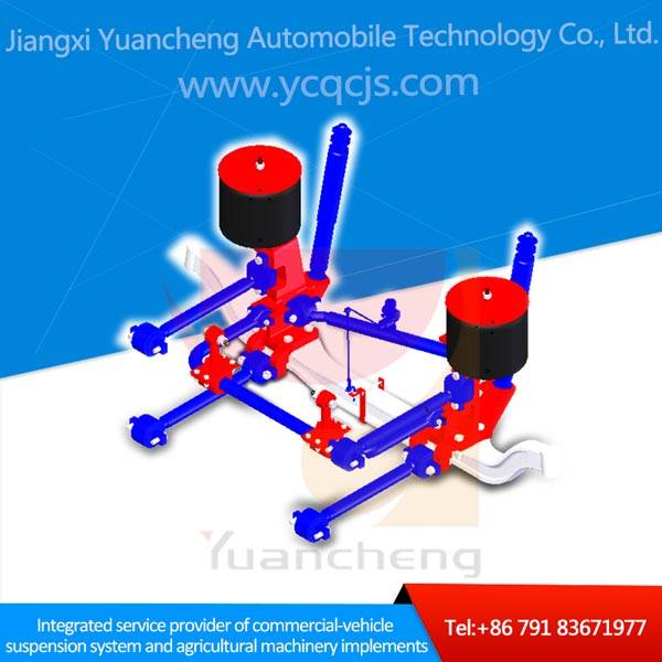 Cost-effective City Bus Air Bag Suspension Systems