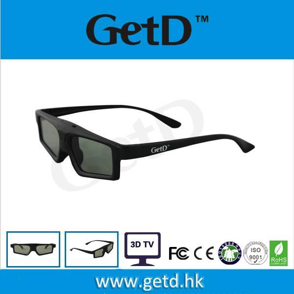 GetD active shutter 3d glasses for infrared 3d TV GH200