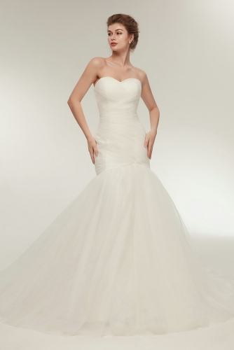 Fit and Flare Wedding Dresses-2020