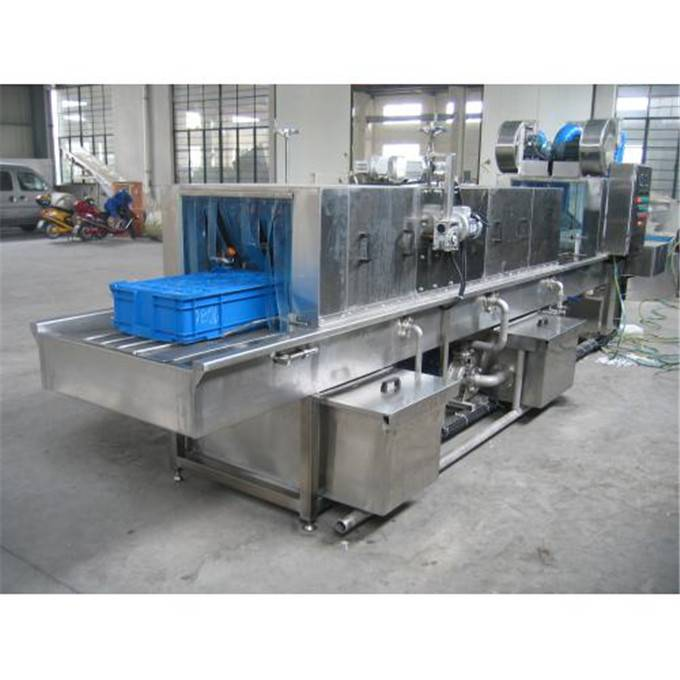 Automatic Turnover Basket Cleaning Machine