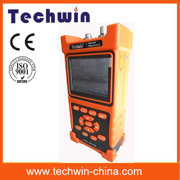 Techwin portable mini fiber otdr test TW2100E