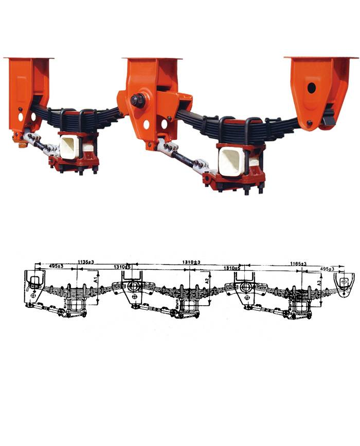 trailer suspension,FUWA,BPW,Saf