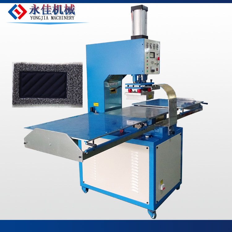 PVC car mat welding making machine