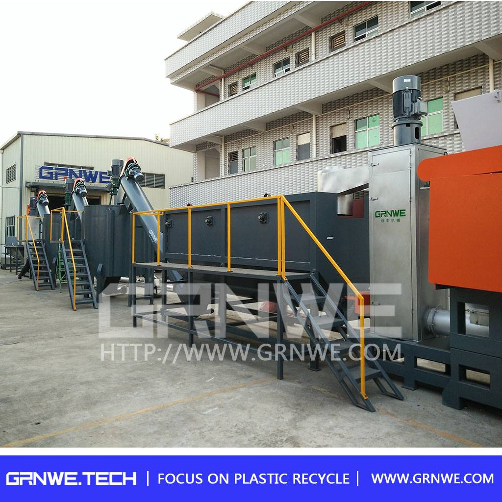 high quality pet bottle washing equpment plant