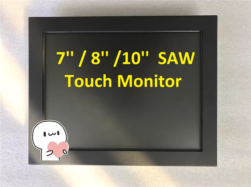 8'' SAW Touch Screen Monitors