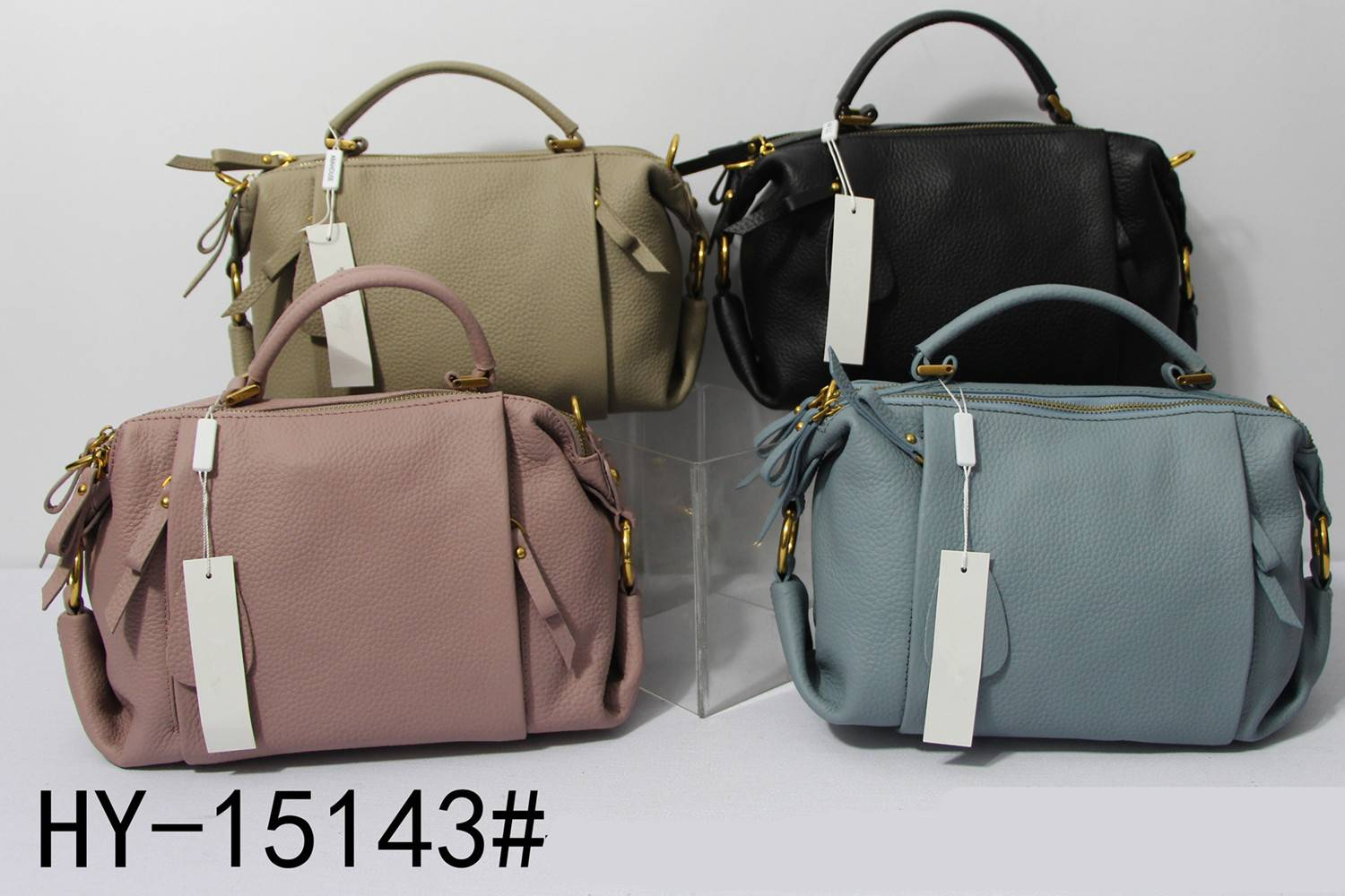 Stylish,concise lady's handbag HY-15143#