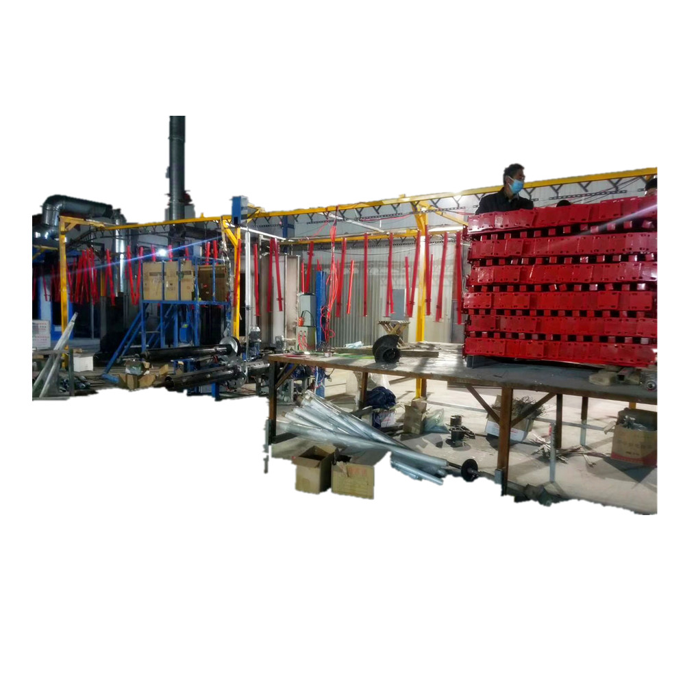 metal sheet powder coating plant