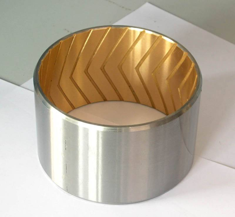 CHB-JF800 Bimetallic Self-Lubricating Bronze Bearing
