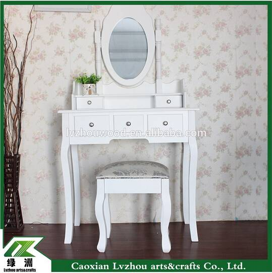 white mirror wooden dresser with chair bedroom furniture wooden dresser