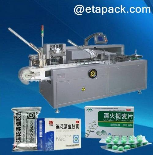 blister cartoning machine