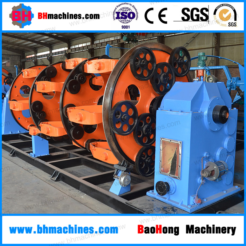 Planetary type electric wire cable making machine with multi-function