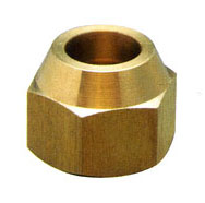 Brass Flare Nut (brass forged nut, brass fitting)