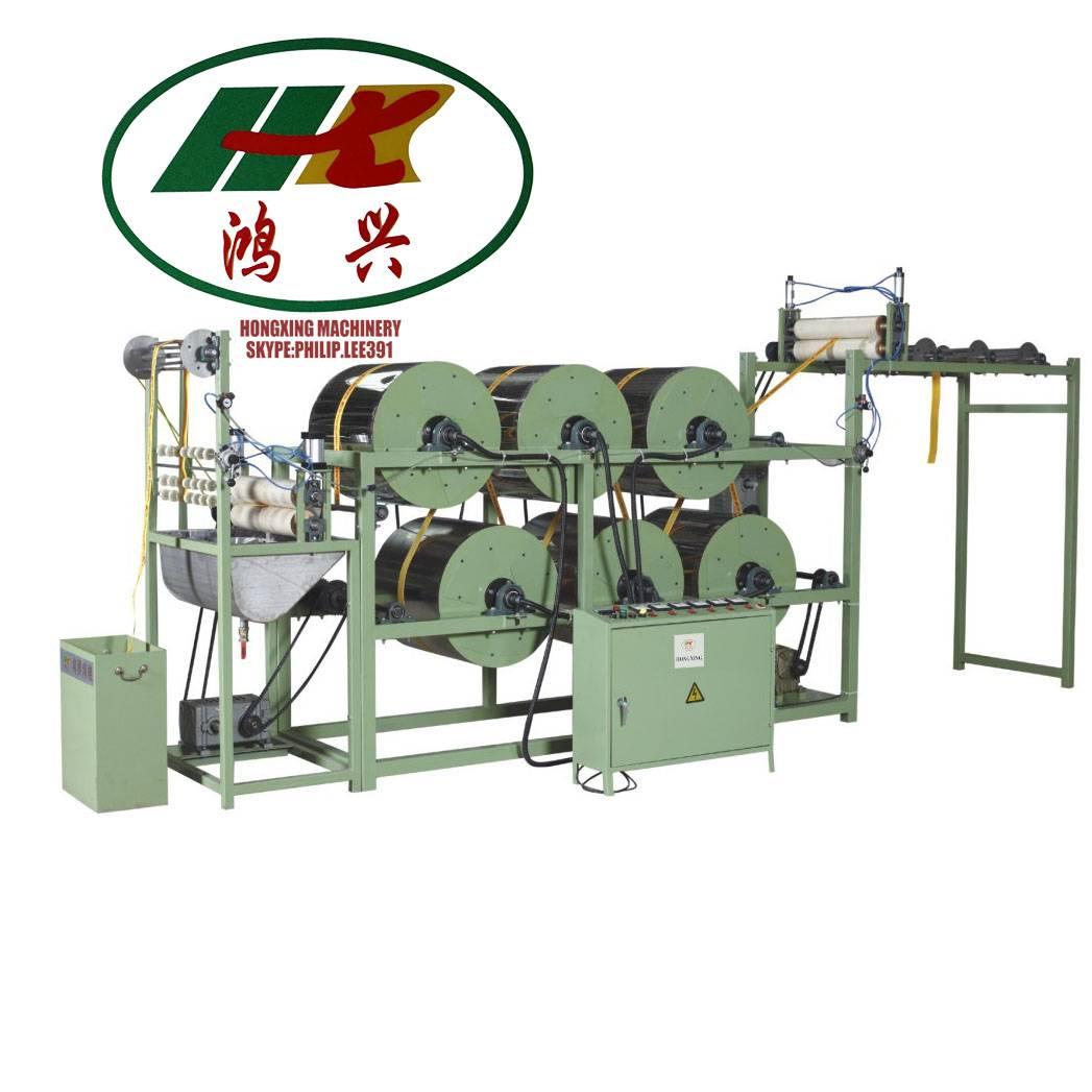 gas heating type sizing and setting machine