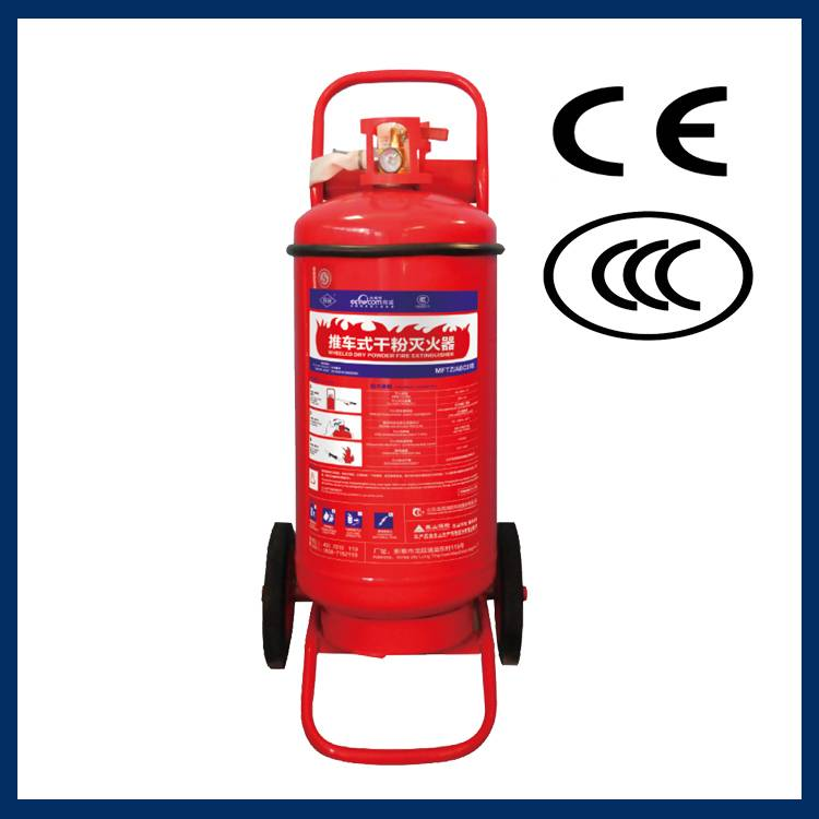 Reliable wheeled type ABC dry powder fire extinguisher warehouse in Vietnam