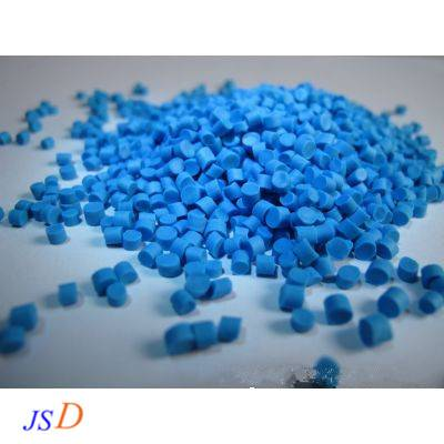 Halogen-free flame-retardant TPE modified pellets for cable sheathing material used for new energy v