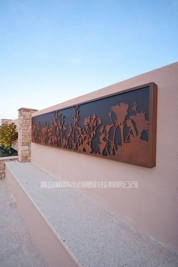 Rusty Iron Artwork Sculptures