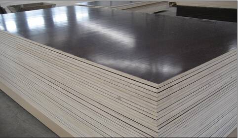 XBR Film Faced Plywood , Construction Plywood , Phenolic Film Faced Plywood