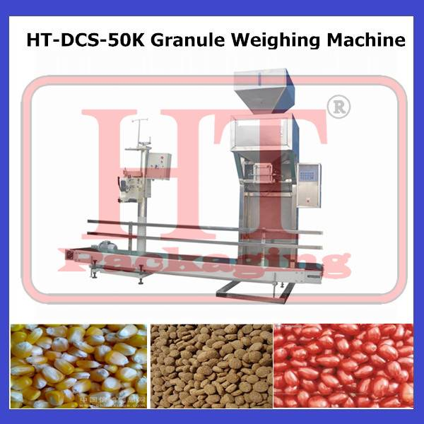 HT-DCS-50K Semi-automatic Rice Weighing Sewing Machine
